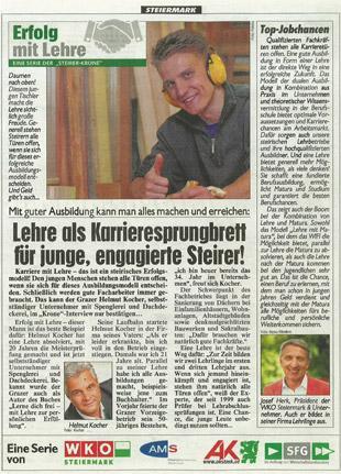 Artikel Kronen Zeitung