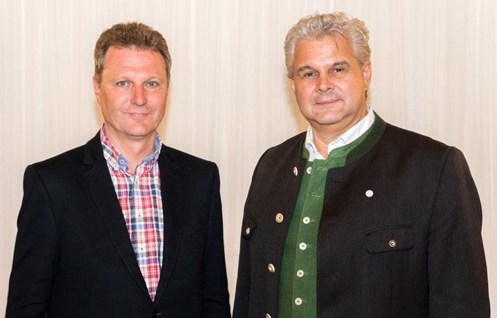 Innungsmeister Schabauer - Obmann Kocher