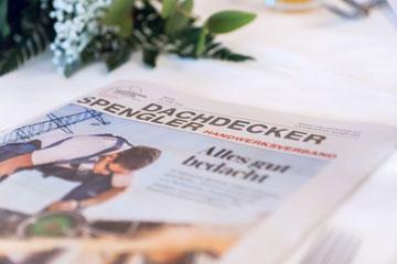 Zeitungsbeilage Dachdecker Spengler