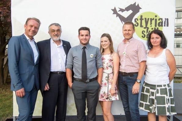 StyrianSkills2017 Auszeichnung