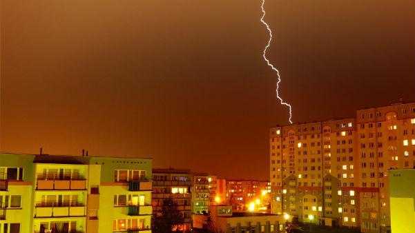 Blitzeinschlag Graz