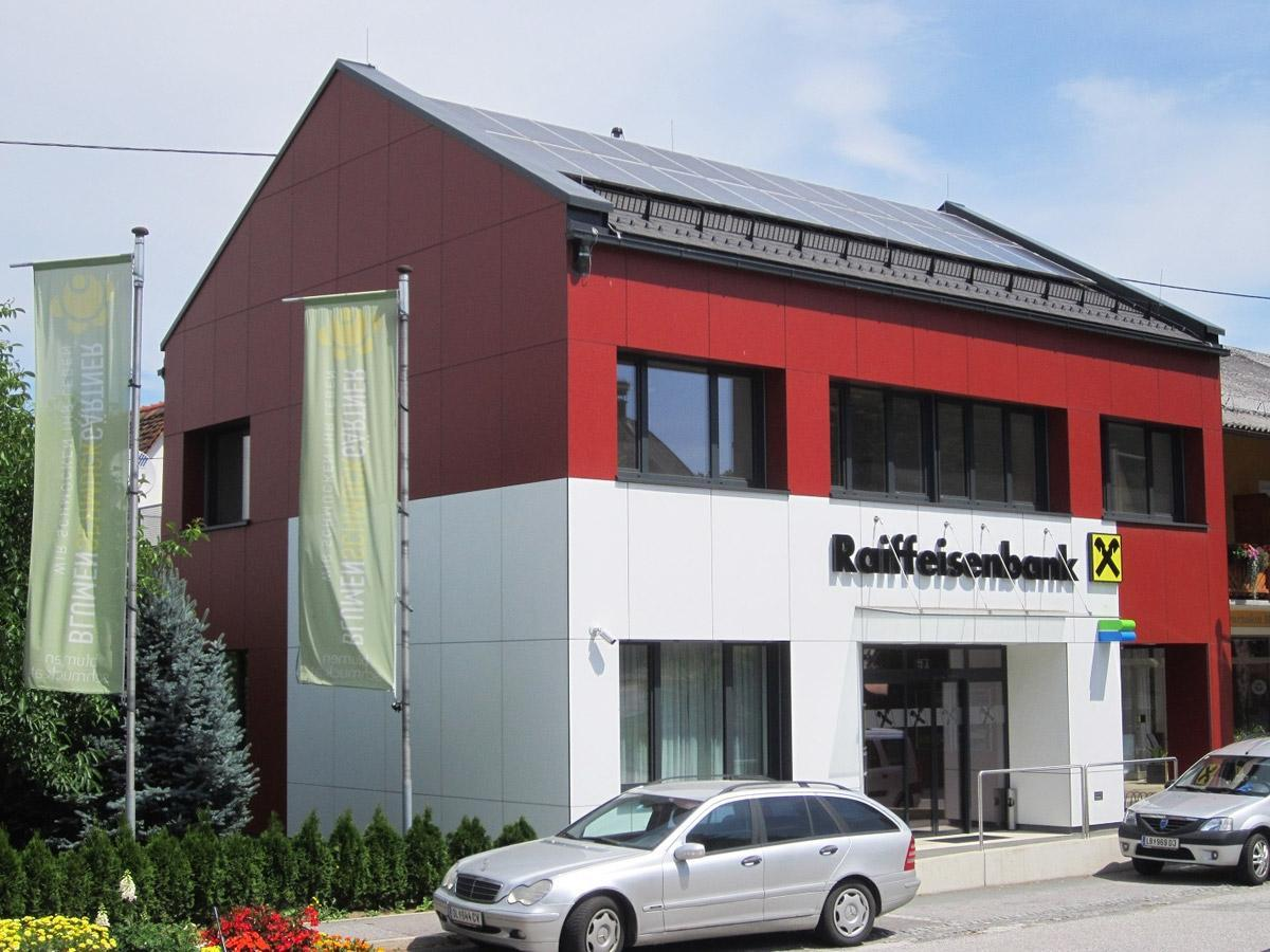 Fassade Dachdecker & Spengler Inschlag - Deutschlandsberg