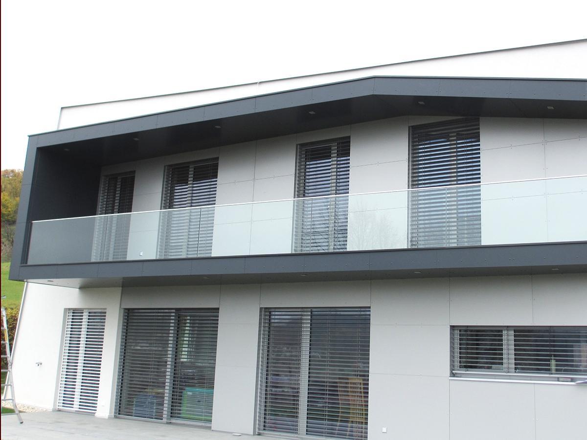 Fassade Spenglerei & Glaserei Raischauer - Weiz