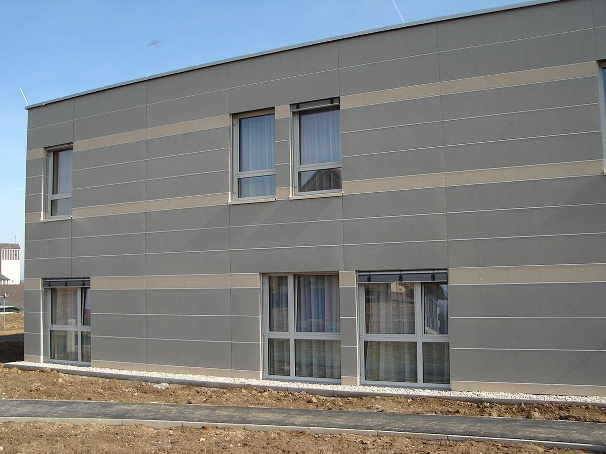 Fassade Spengler & Fassade TR Flachdachbau - GU