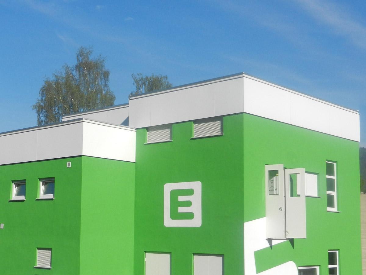 Fassade Dachdecker & Spengler Fischer - Graz