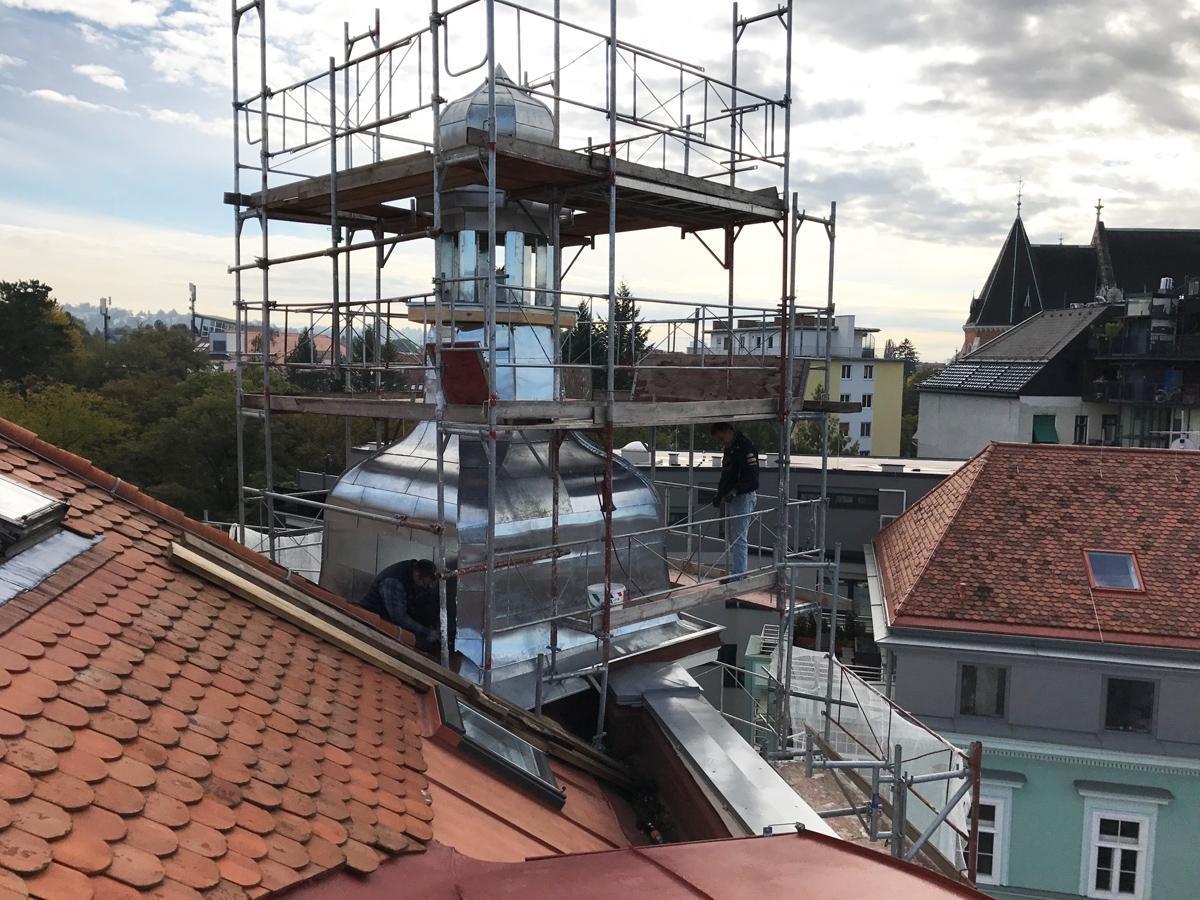 Spengler in der Steiermark Dachdecker & Spengler Schiftner - Graz