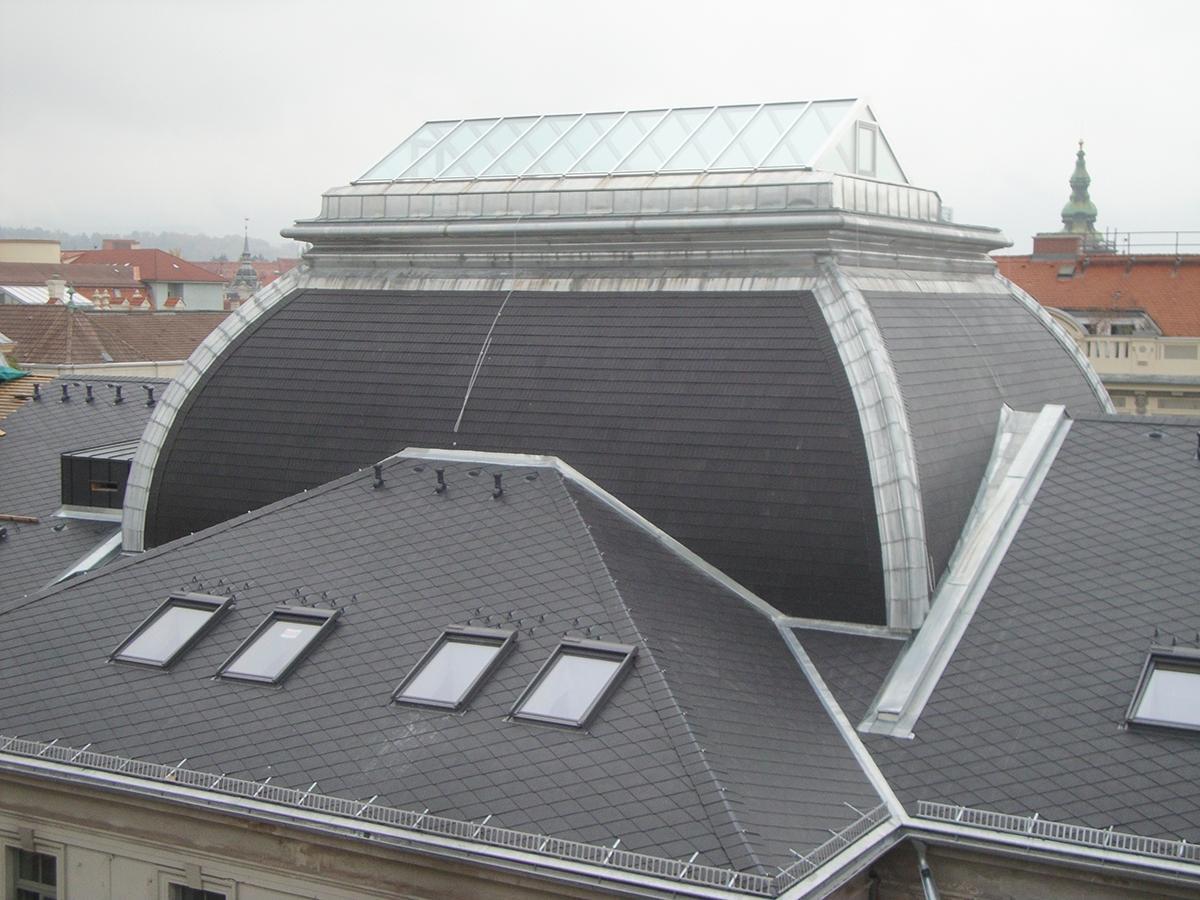 Steildach Dachdecker, Spengler & Fassaden Zidek