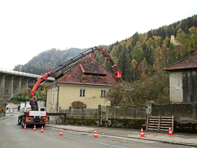 Sturmschadenbehebung Dachdecker & Spengler Steinbauer Judenburg