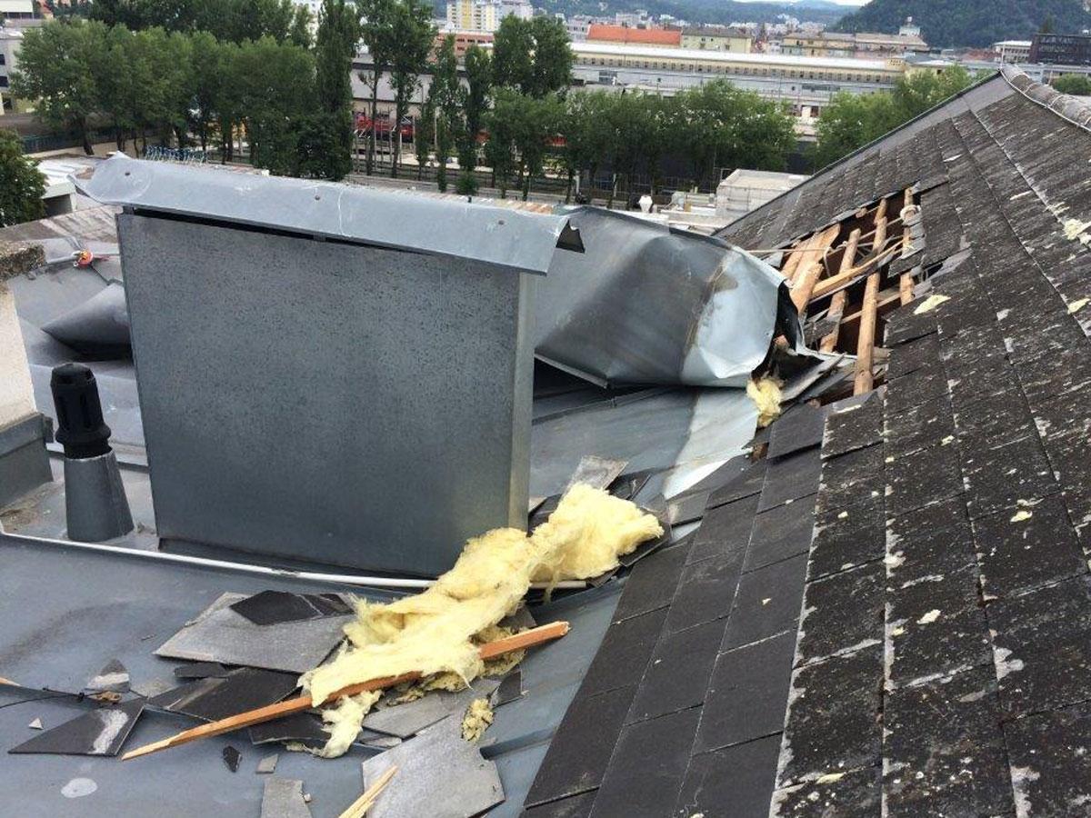 Sturmschadenbehebung Dachdecker & Spengler Schabauer - Graz