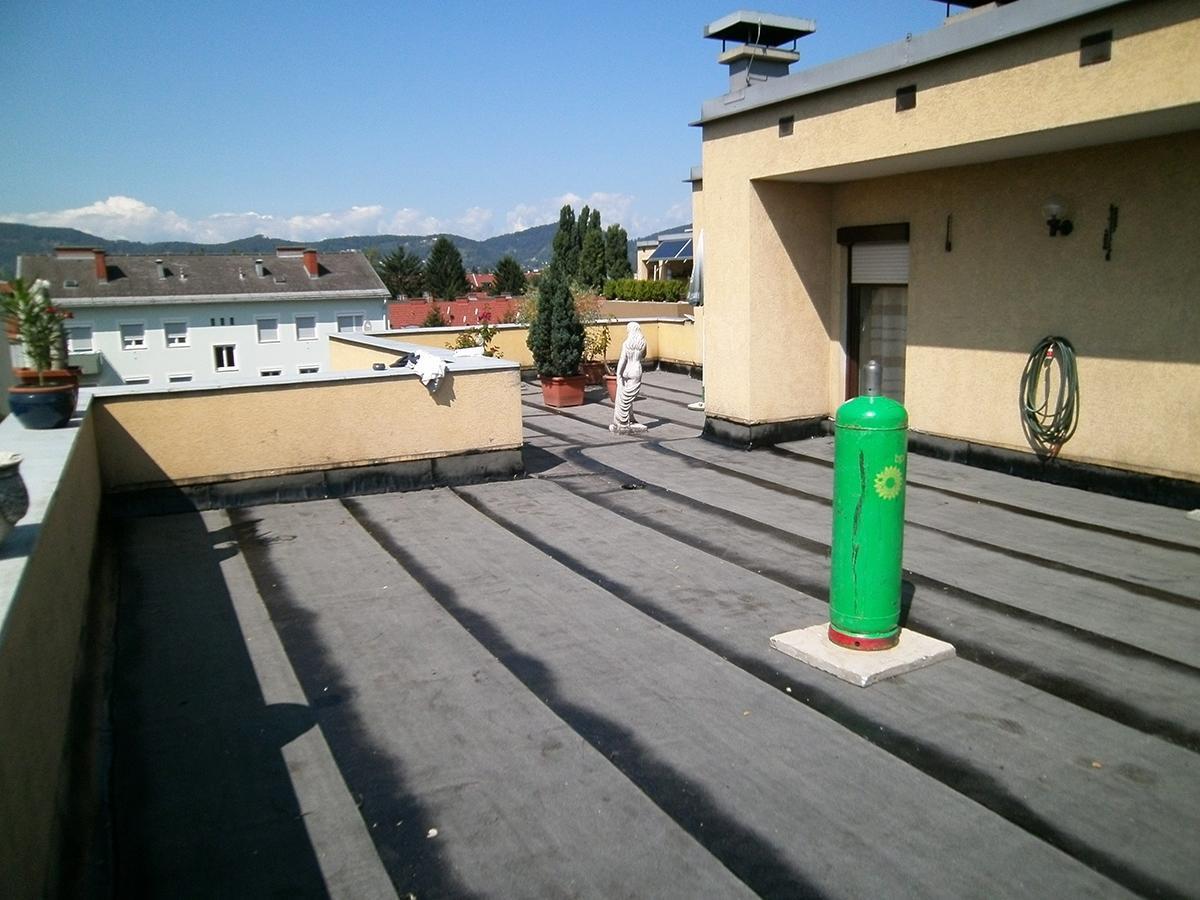 Balkonabdichtung / Terrassenabdichtung Dachdecker & Spengler Bau & Dach - Graz