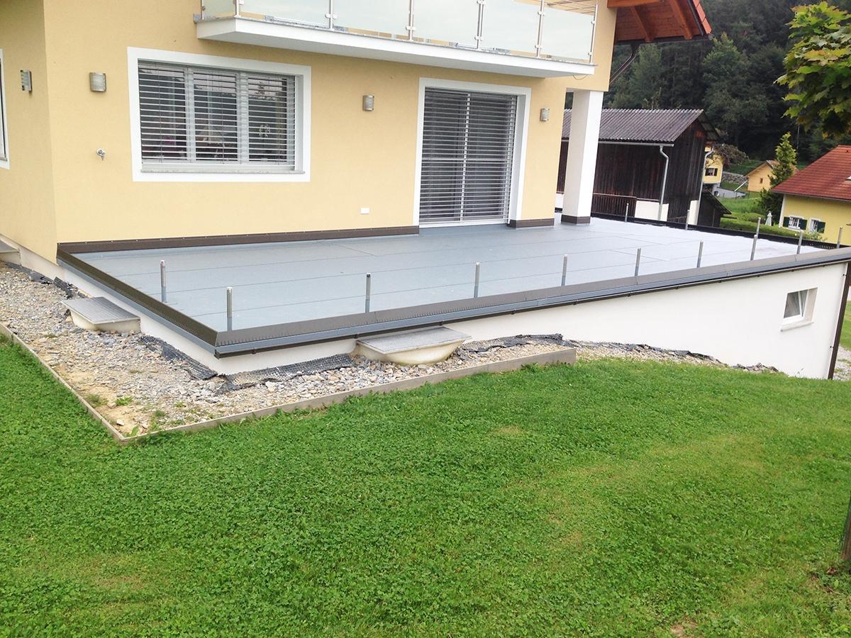 Balkonabdichtung / Terrassenabdichtung Spenglerei & Bauwerksabdichtung Grollegg - Grafendorf