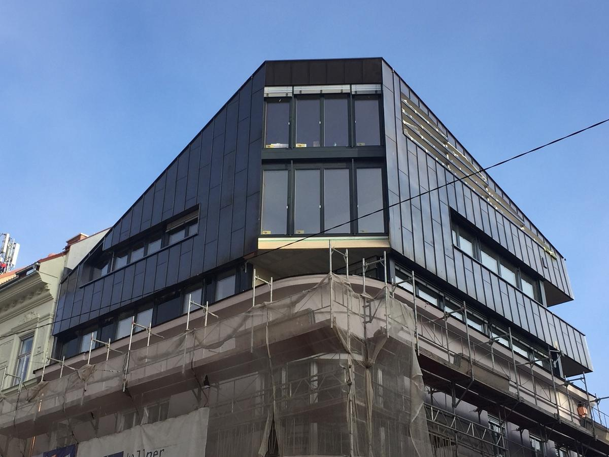Fassade Dachdecker & Spengler Schiftner - Graz