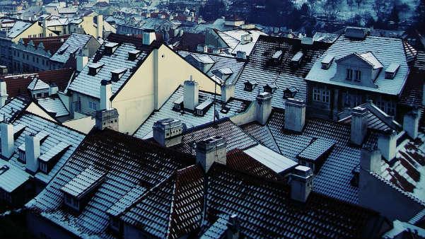 Frostschäden am Dach